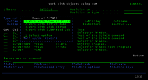 Selection Window - SLTWIN