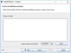 iInstall Reborn Creator. Build Executable JAR file.